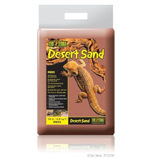 Exo-Terra Podłoże Desert Sand 4,5kg - czerwone (PT3105)