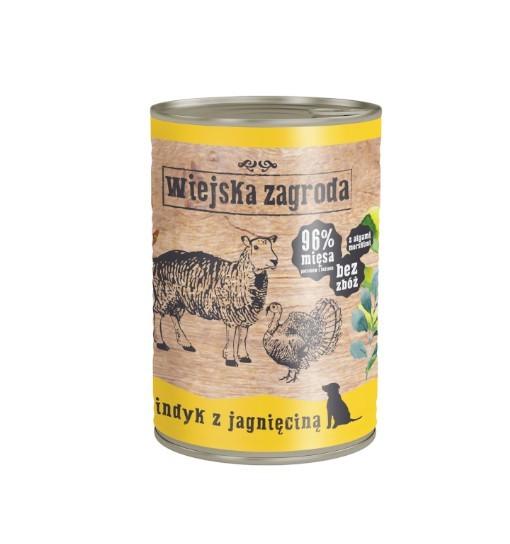 Wiejska Zagroda karma mokra - indyk z jagnięciną 400g