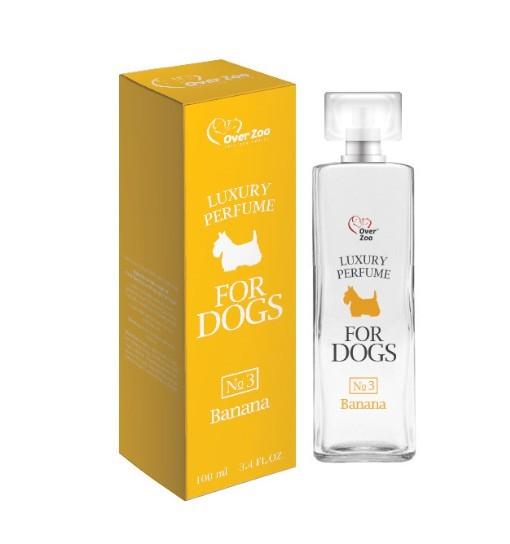Over Zoo Perfumy dla psów o zapachu bananów 100ml