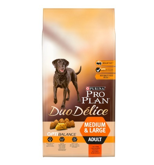 PRO PLAN Duo Delice Adult Wołowina, Ryż 10kg