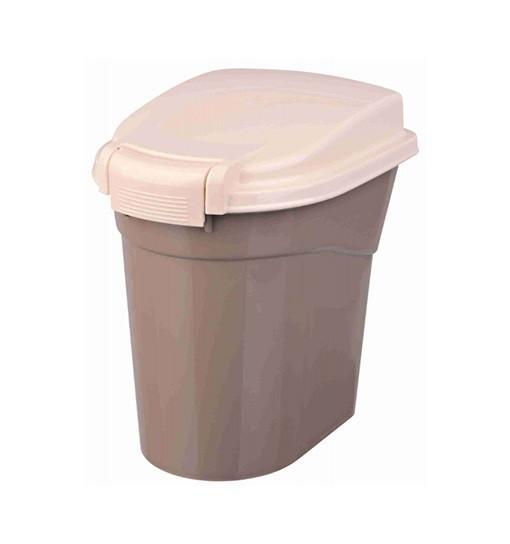 Trixie Pojemnik na karmę 3,8L, 25 × 25 cm - szarobrązowo-kremowy