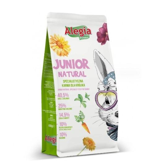 Alegia Karma dla młodych królików NATURAL 650g