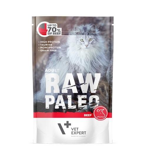 Vet Expert RAW PALEO karma mokra dla dorosłych - wołowina 100g