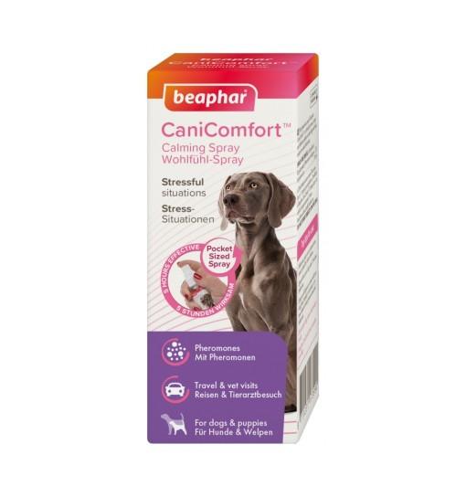 Beaphar CaniComfort Calming Spray - kieszonkowy spray z feromonami dla psów