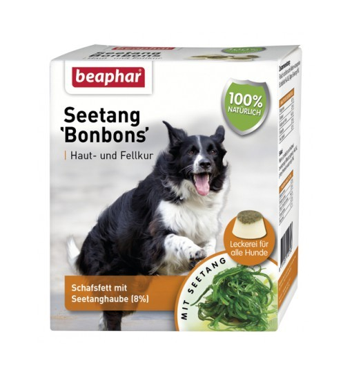 Beaphar SEETANG BONBONS - praliny dla psa z algami 245g