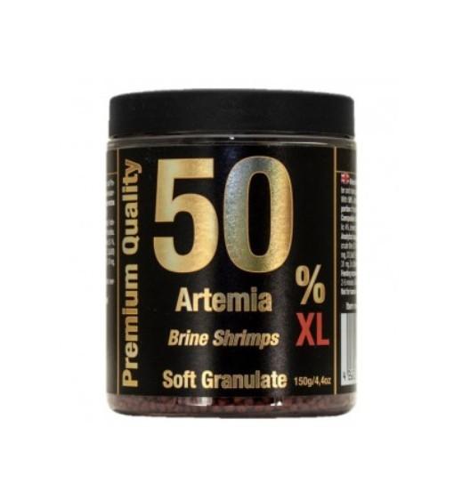 Discusfood Artemia/Brine Shrimps soft granulate 50% 150g - granulat dla wszystkich ryb i krewetek