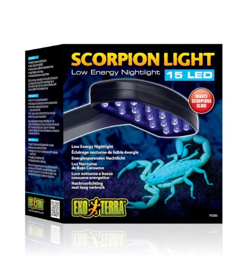 Exo-terra Scorpion Light - nocna lampa LED
