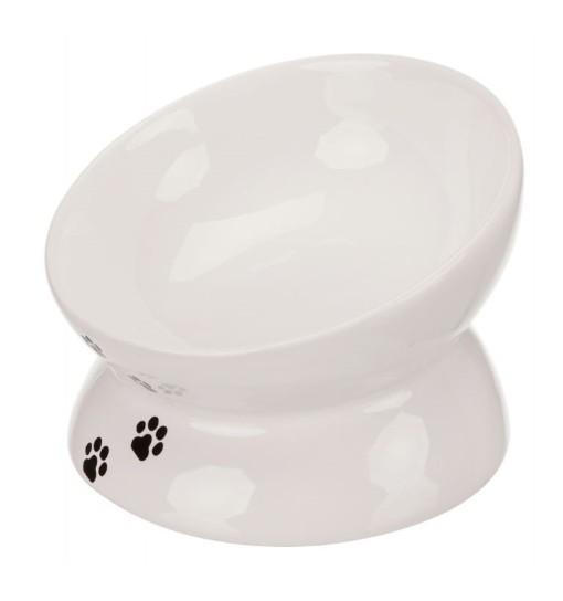 Trixie Podwyższana miska ceramiczna dla kota 150ml