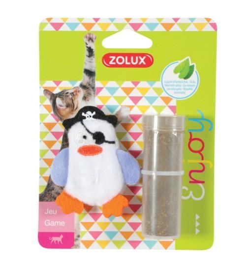 Zolux Zabawka dla kota PIRAT - biała