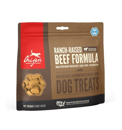 Orijen FDT Dog Ranch-Raised Beef 42,5g - przysmaki liofilizowane