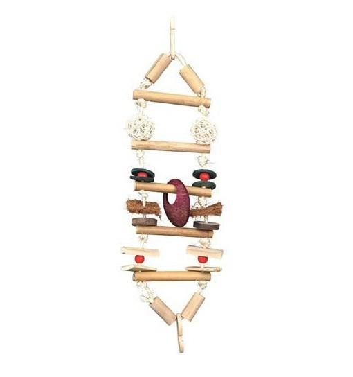 Trixie Wiszący most, zabawka bambusowa 45cm