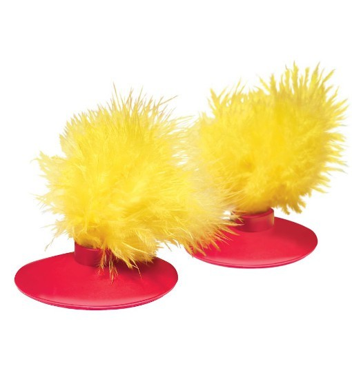 KONG Cat Glide n' Seek Feathers 2-pk