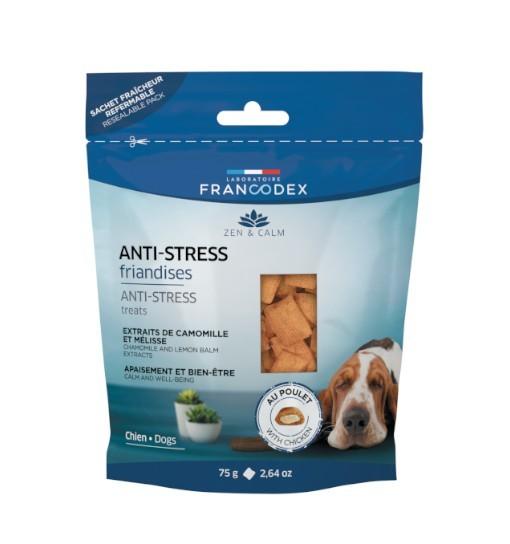 Francodex Przekąski uspokajające dla psów 75g