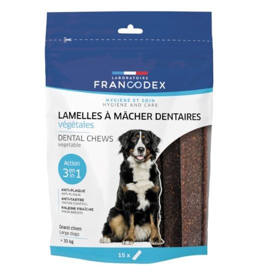 Francodex Lamelles – gryzaki dentystyczne dla dużych psów (poniżej 30 kg)