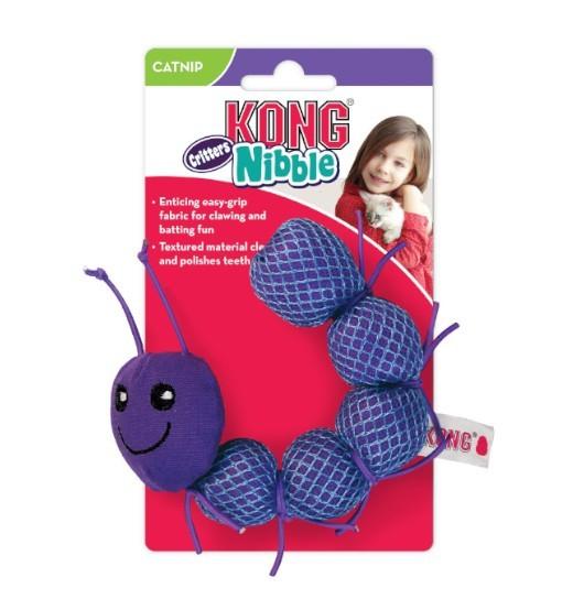 KONG Nibble Critter Catnipillar