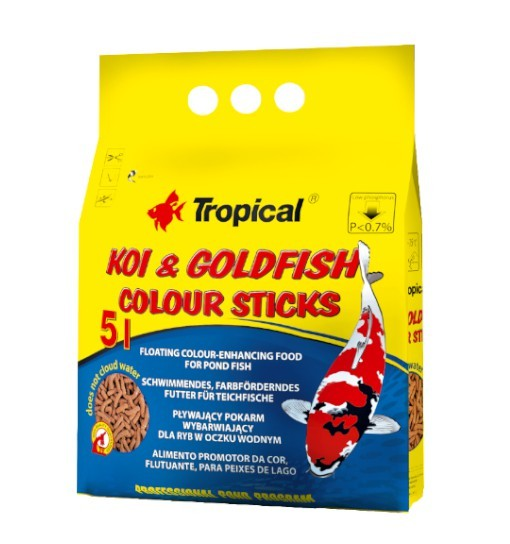 Koi&Goldfish Colour Sticks worek 50l/4kg