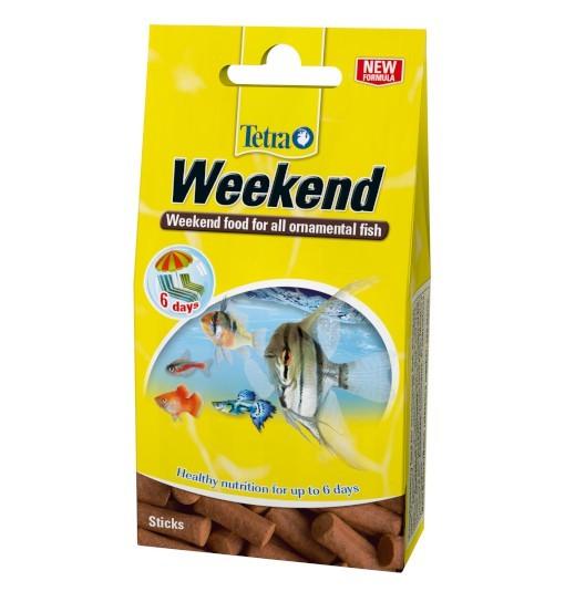 Tetra Min Weekend - pałeczki wolno rozpuszczające się