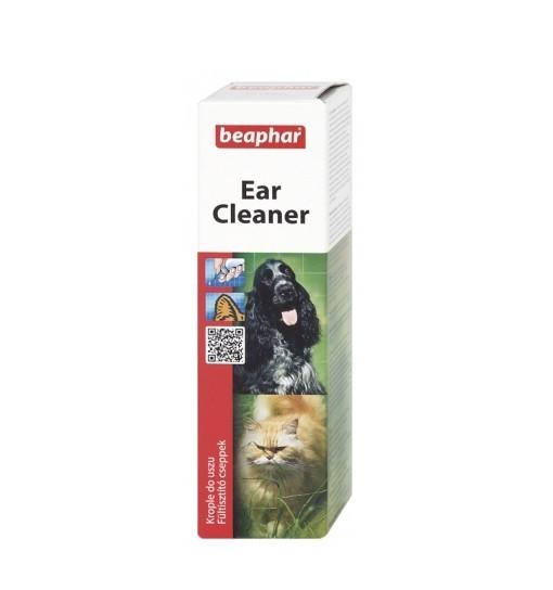 Beaphar Ear Cleaner 50ml - krople do pielęgnacji uszu