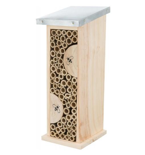 Hotel dla pszczół, drewniany