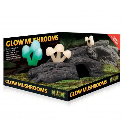 Exo-Terra Kryjówka Świecące grzyby Glow Mushrooms (PT2843)