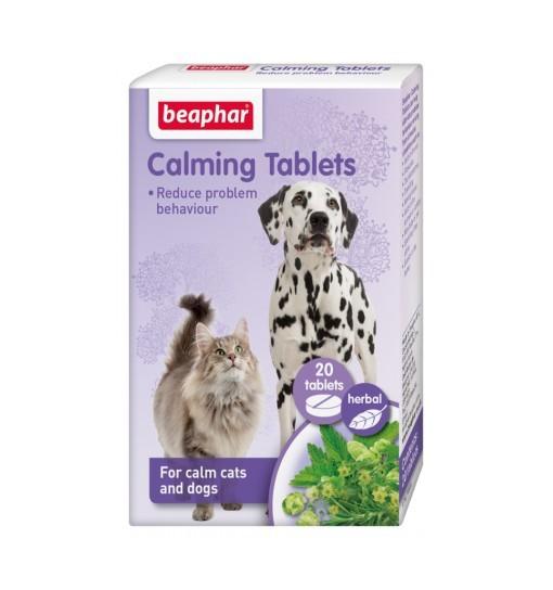 Beaphar Calming Tablets 20szt - tabletki redukujące stres