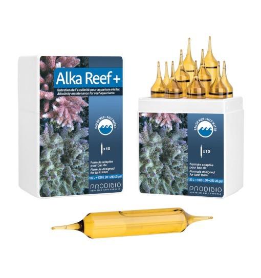 Prodibio Alka Reef + - utrzymuje zasadowość w akwarium z rafą