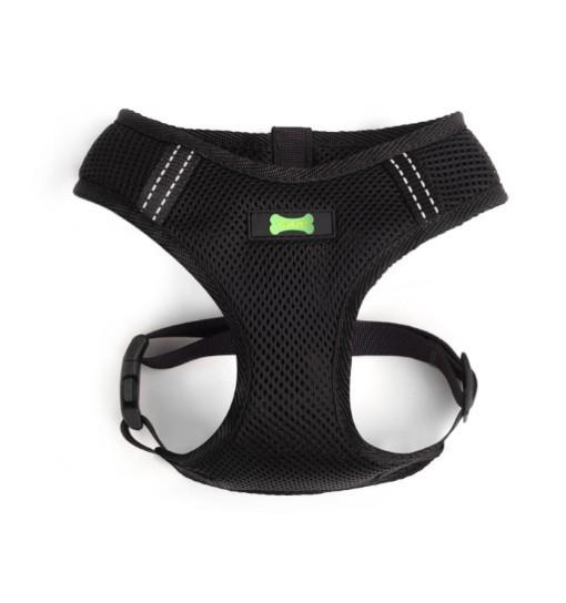 Your Pet Textile Comfort – szelki bezuciskowe (czarno-czarne)