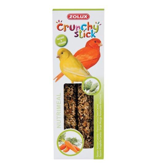 Zolux Crunchy Stick kanarek mozga kanaryjska/marchew 85g