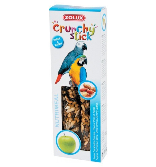 Zolux Crunchy Stick papuga orzech ziemny/jabłko 115g