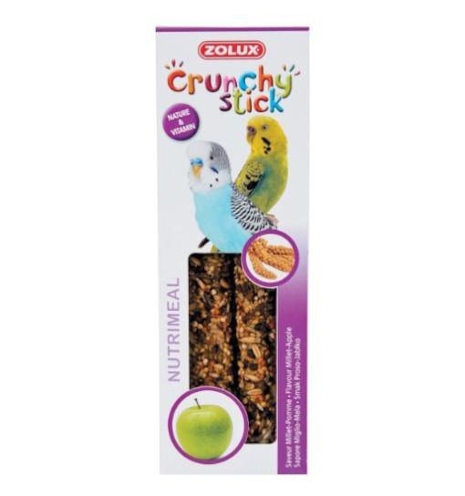 Zolux Crunchy Stick papuga mała proso/jabłko 85g