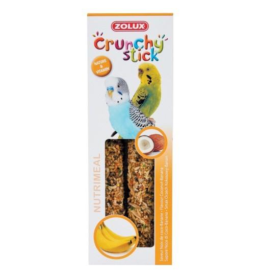 Zolux Crunchy Stick papuga mała orzech kokosowy/banan 85g