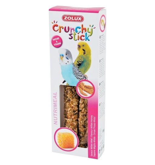 Zolux Crunchy Stick papuga mała proso/miód 85g
