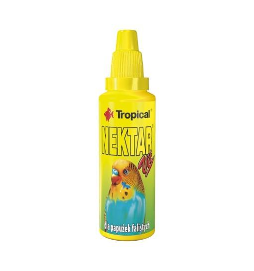 Tropical Nektar-Vit - witaminizowany nektar w płynie dla papużek falistych 30ml