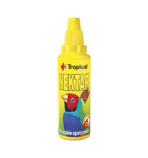 Tropical Nektar-Vit - witaminizowany nektar w płynie dla ptaków egzotycznych 30ml