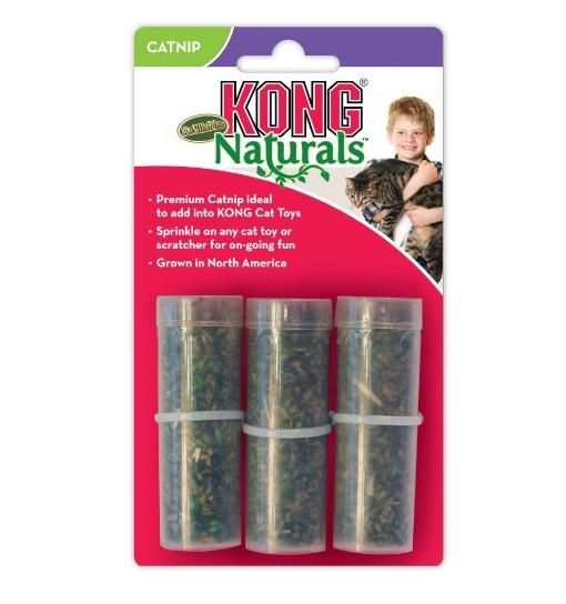 KONG Refillables Catnip Tubes 9g /3szt - tubki z kocimiętką