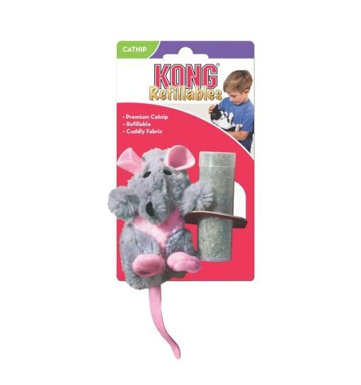 KONG Cat Toy szczur z kocimiętką