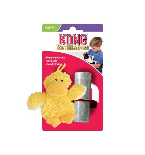 KONG Cat Toy kaczka z kocimiętką