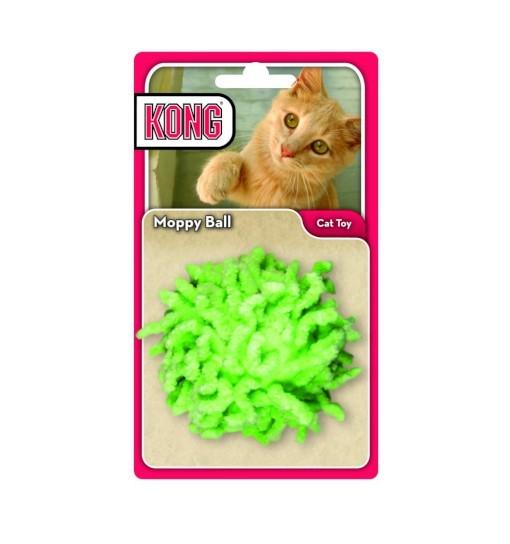 KONG Active Moppy Ball - piłka mop dla kotów
