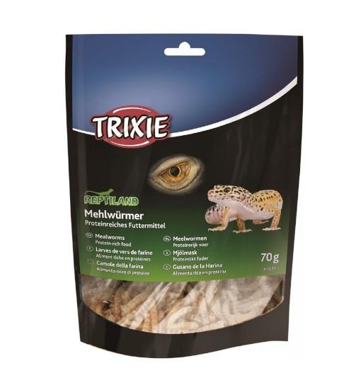 Trixie Suszone larwy mącznika dla gadów 70g