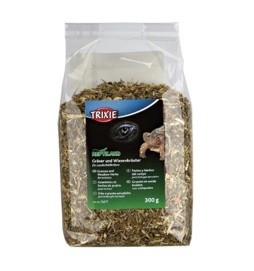 Trixie Mix traw i ziół dla żółwi lądowych 300g