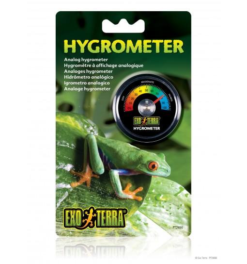 Exo-Terra Wilgotnościomierz okrągły Hygrometer  (PT2466)