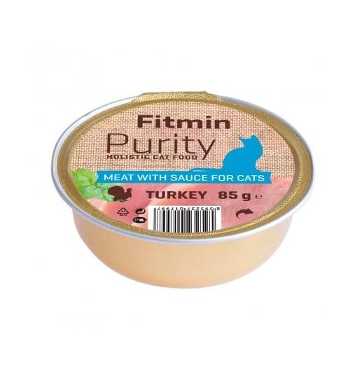 Fitmin Cat Purity Alutray Turkey 85g /tacka