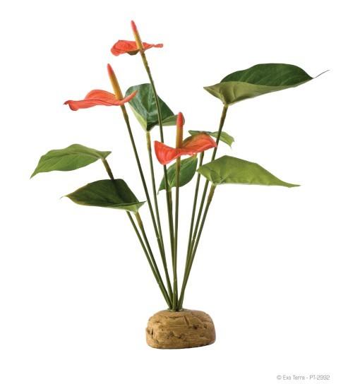 Exo-Terra Antharium Bush - roślina sztuczna