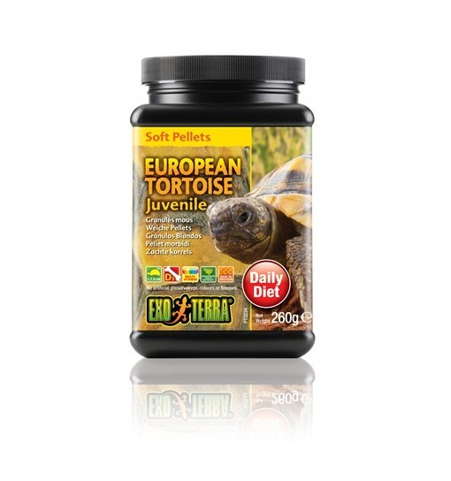 Exo-Terra Pokarm dla młodych żółwi europejskich European Tortoise Juvenile.
