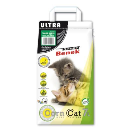 Benek CornCat Ultra Świeża trawa 7l