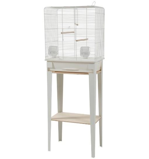 Zolux Klatka ze stojakiem CHIC Loft - biała
