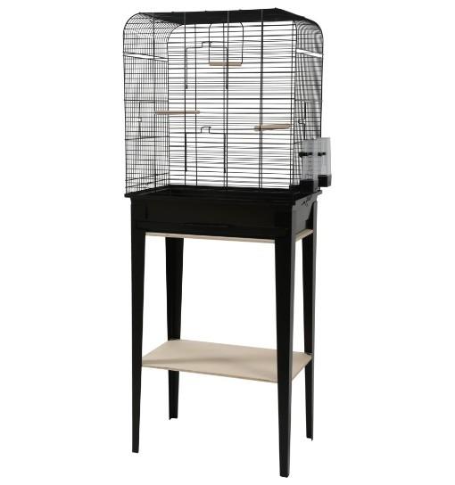 Zolux Klatka ze stojakiem CHIC Loft - czarna