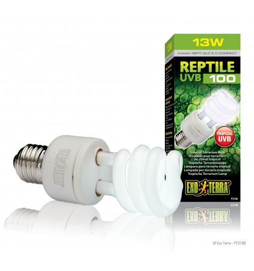 Exo-Terra Świetlówka kompaktowa Reptile UVB100