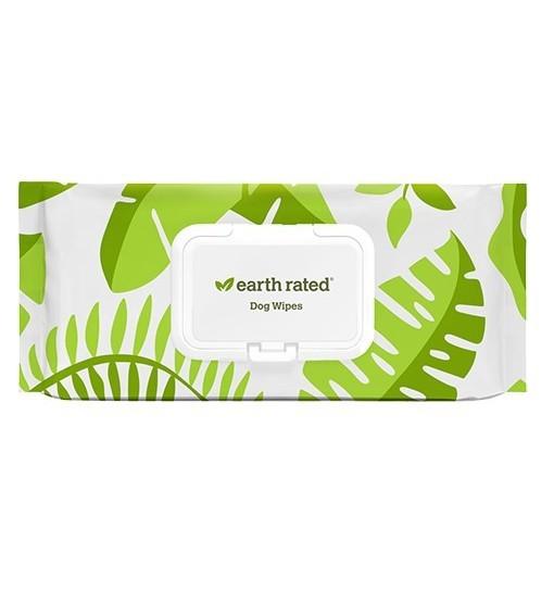 EARTH RATED chusteczki kompostowalne, bezzapachowe /100szt