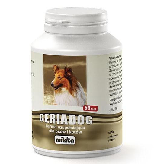Mikita Geriadog - suplement diety dla psów i kotów seniorów